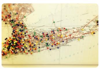 Map in Senator Schumer's office - Stony Brook & Setauket represent!